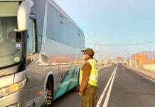 Detenido un conductor en Chile - Detenido un conductor en Chile