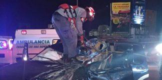 choque en la Autopista Cacique Guaicaipuro - choque en la Autopista Cacique Guaicaipuro