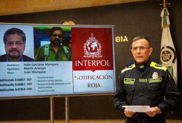 """alerta roja contra """"Iván Márquez"""" - alerta roja contra """"Iván Márquez"""""""
