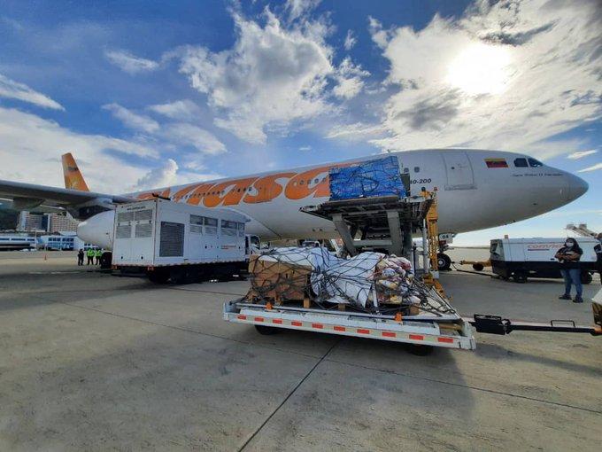 Venezuela envía 30 toneladas de ayuda humanitaria