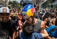 Nunca había visto tan feliz a Venezuela - Nunca había visto tan feliz a Venezuela