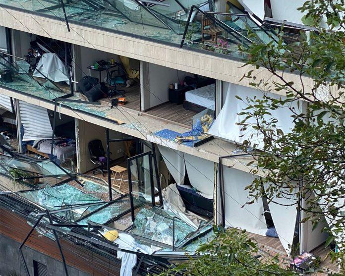 Explosión en edificio de la Ciudad de México