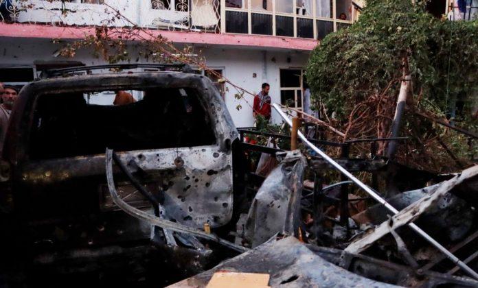 Estados Unidos efectuó ataque en Kabul
