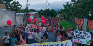 Ángel Fernández recorrió zonas rurales