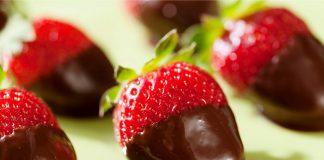 fresas con chocolate - fresas con chocolate