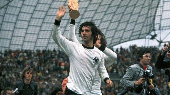 Falleció leyenda del fútbol alemán Gerd Müller a los 75 años