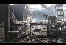 Incendio en fábrica de alimentos - Incendio en fábrica de alimentos