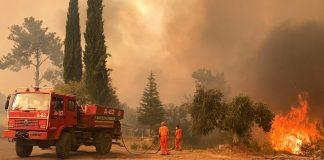 Municipios en Turquía evacuados por los incendios