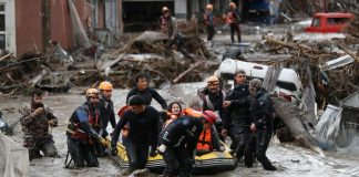 inundaciones en el norte de Turquía - inundaciones en el norte de Turquía