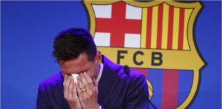Messi dice adiós al Barça - Messi dice adiós al Barça