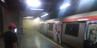 Desalojaron estación del metro en Sabana Grande