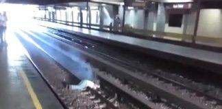 rieles del Metro de Caracas falleció electrocutado - rieles del Metro de Caracas falleció electrocutado