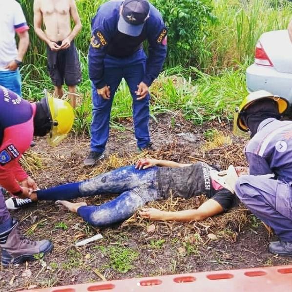 Mujer arrollada en la carretera San Joaquín