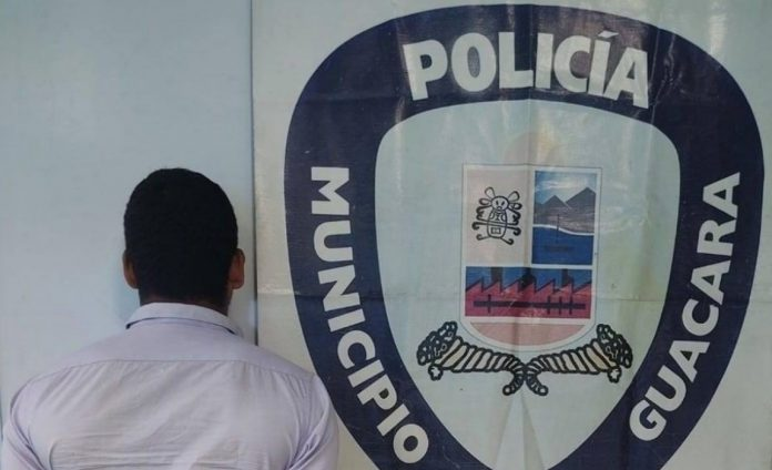 Detenido un hombre tras cometer actos lascivos contra su hijastra en Guacara