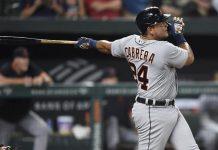 Miguel Cabrera quedó a un cuadrangular de alcanzar los 500 jonrones (+Video)