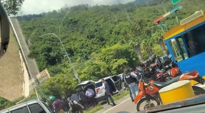 Detenido escolta motorizado del BOD - Detenido escolta motorizado del BOD
