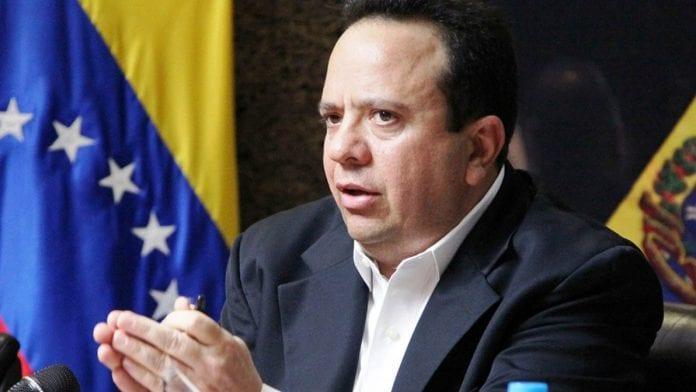 Rodolfo Marco Torres renunció como gobernador de Aragua