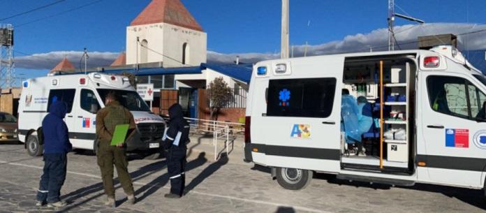 Camioneta con migrantes venezolanos se volcó