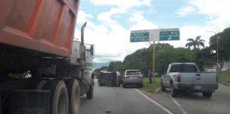 Accidente en la autopista de Este