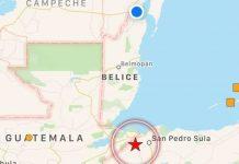 Sismo de 5.4 se registró en Honduras