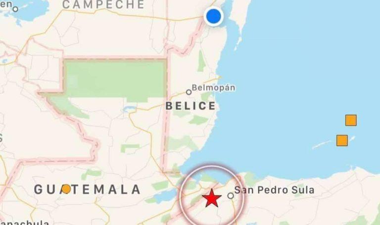 Sismo de 5.4 asustó a la población de Honduras este miércoles