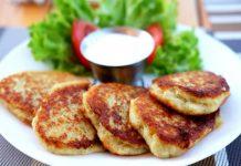tortitas de coliflor con queso - tortitas de coliflor con queso