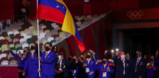 La delegación venezolana de Tokio 2020