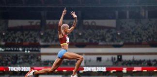Yulimar Rojas gana medalla de oro