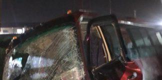 Accidente de un autobús en la ARC - Accidente de un autobús en la ARC