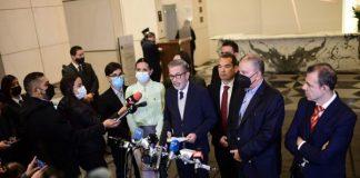 Gobierno Nacional y Oposición llegaron a los primeros acuerdos parciales