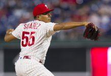 Ranger Suárez lanzó la primera blanqueada de su carrera en MLB