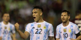 Qatar 2022 La Vinotinto perdió frente a Argentina y cae al sótano en las eliminatorias