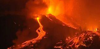 Volcán en Isla La Palma - Volcán en Isla La Palma