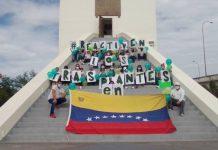 Barquisimeto Pacientes a la espera trasplante protestaron en el Obelisco