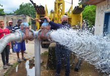 Reactivan pozo de agua en la VR de Bárbula