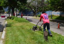 Inició despliegue de cuadrillas de limpieza