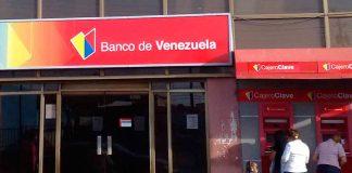 Banco de Venezuela no presta servicio comercial