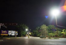 Instalan más de 1700 lámparas led