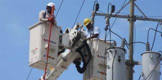 Corpoelec suspenderá el servicio eléctrico