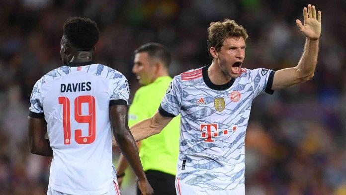 Bayern Munich inició con goleada sobre Barcelona la Champions
