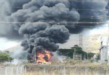Néstor Reverol evaluó los daños de subestación eléctrica en Aragua