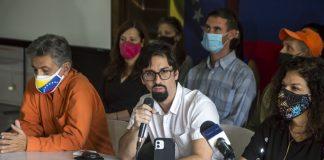 Freddy Guevara se une negociación en México - Freddy Guevara se une negociación en México