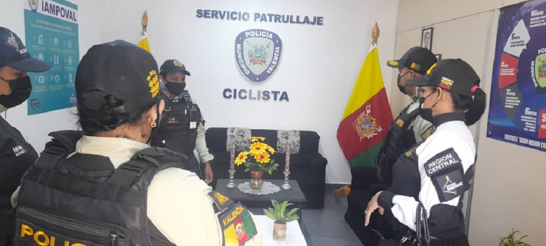 Visipol supervisó alPolicía de Valencia - Visipol supervisó alPolicía de Valencia