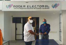 Manuel Barroeta formalizó inscripción