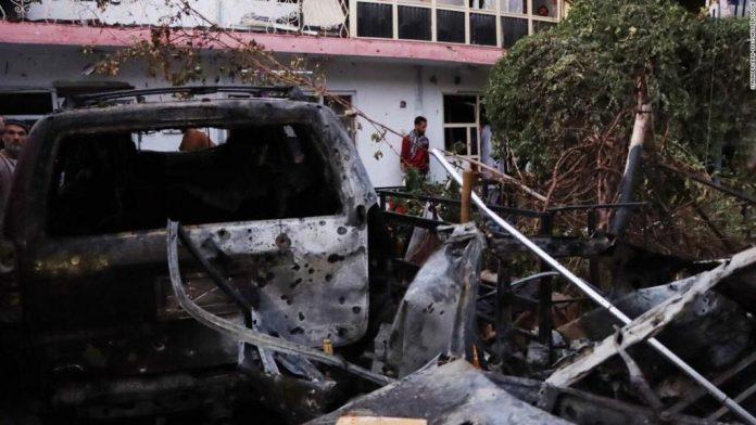 Ataque aéreo en Afganistán - Ataque aéreo en Afganistán