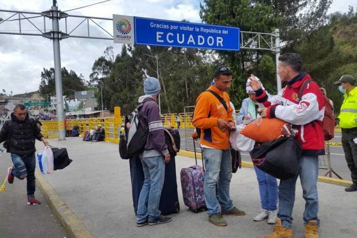 Ecuador deportará a más de mil venezolanos