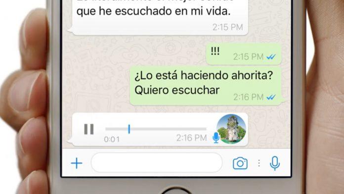 WhatsApp trabaja para transcribir los mensajes de voz en iOS