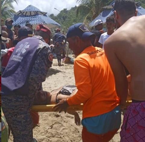 Abuela falleció ahogada en La Guaira - Abuela falleció ahogada en La Guaira