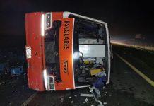 Bebé murió en un accidente en la Ruta 2
