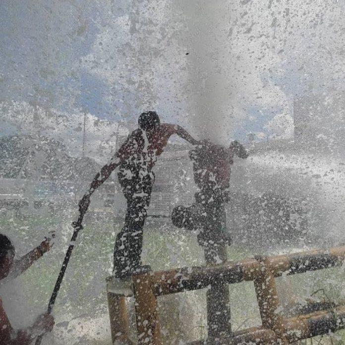 Hidrocentro arregló bote de agua - Hidrocentro arregló bote de agua